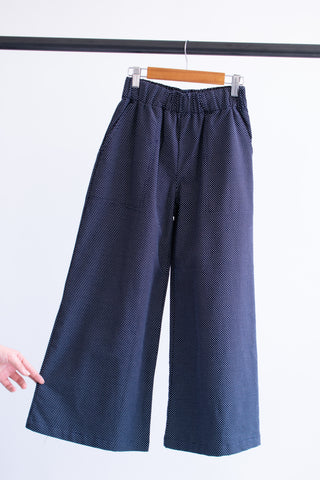 Jaclyn Beach Pants - Navy Weave - XS