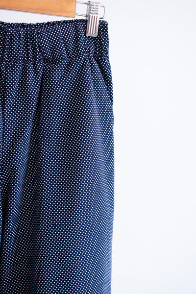 Jaclyn Beach Pants - Navy Weave