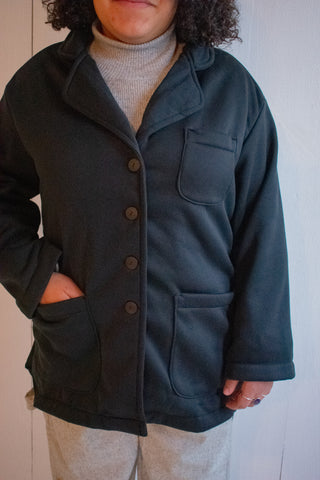 Klein Jacket - Fleeced Black