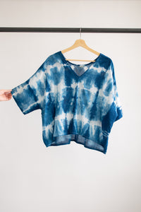 Indigo Bailey Boxy Top Cotton #3 - L/XL