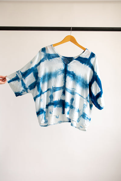 Indigo Bailey Boxy Top Cotton #5 - L/XL