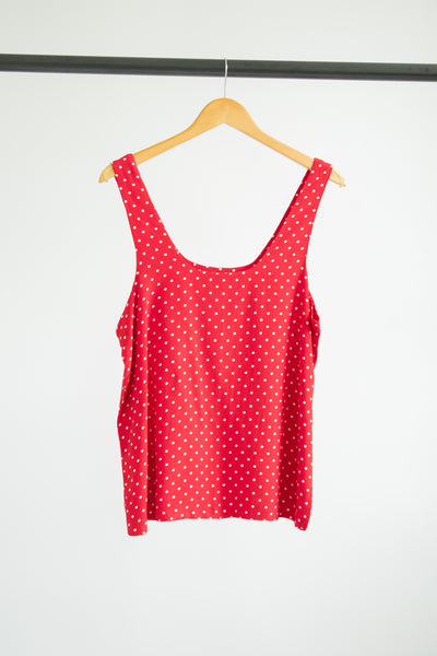 Robin Tank Top - Red Dots