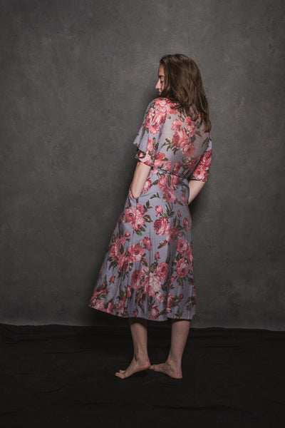 Floral April Wrap Dress