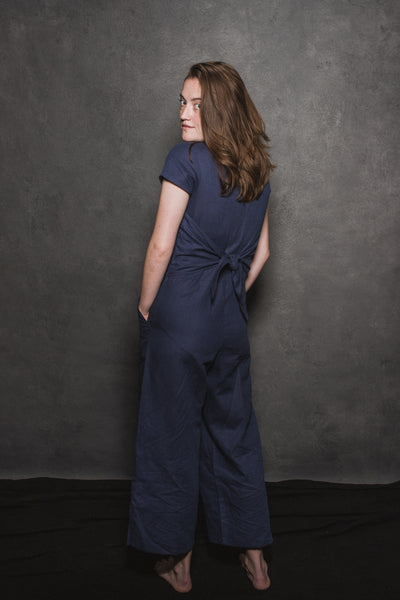 Kate Jumpsuit with Ties
