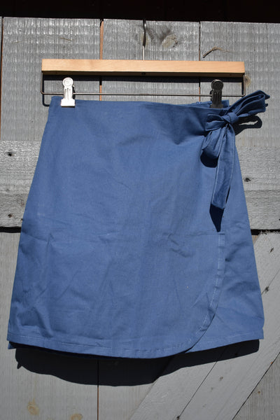 Jayden Wrap Skirt - Blue