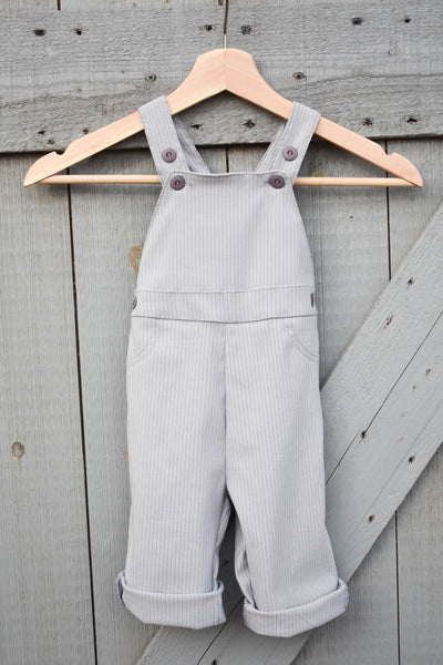 Lily Overalls Pinstripe for Toddlers