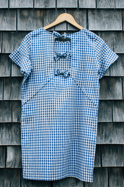 Zoe Shift Dress Gingham