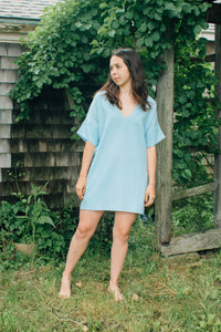 Bailey Tunic Dress Linen