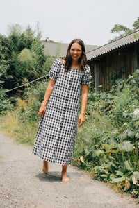 Zuri Dress - Gingham