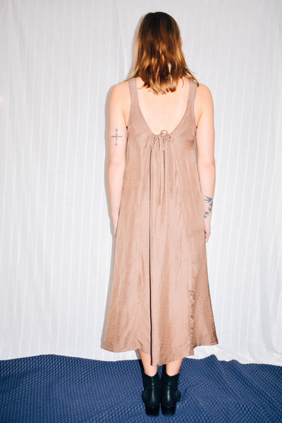 Lisa Low Back Dress Sheer