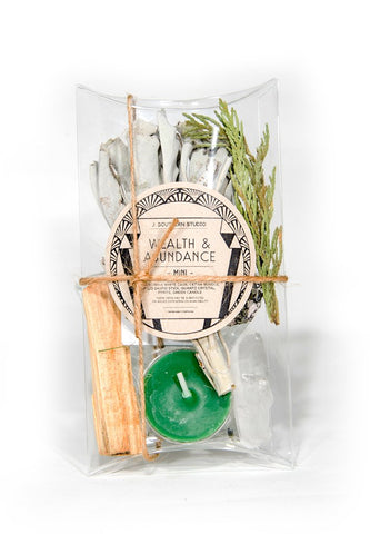 Wealth & Abundance Ritual Kit- MINI