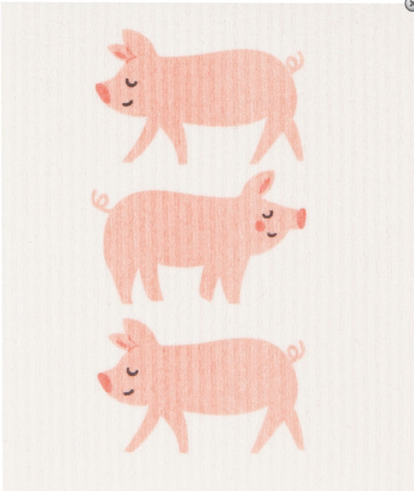 Swedish Dish Cloth Pigs