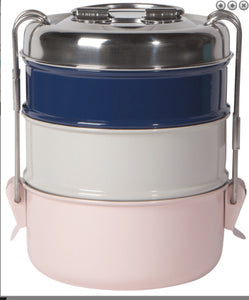 Tiffin Food Storage Containers - Pink