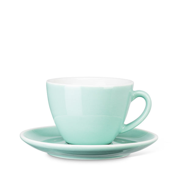 Diner Cappuccino Cup and Saucer - Mint