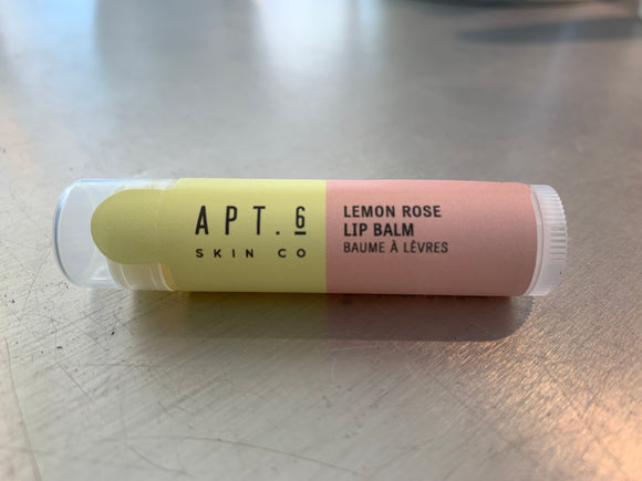 Lemon Rose Lip Balm