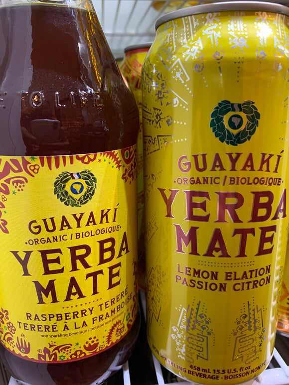 Yerba Maté Cold Tea