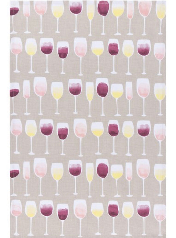 Wine Tasting Tea Towel