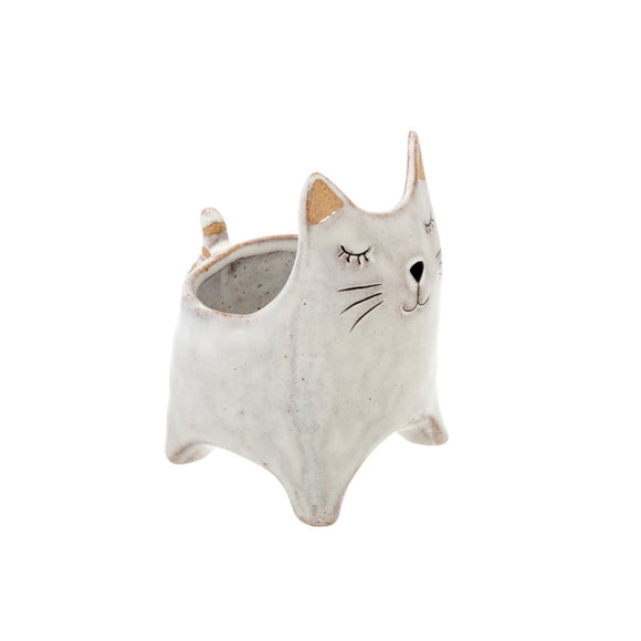 Here Kitty Planter Pot S