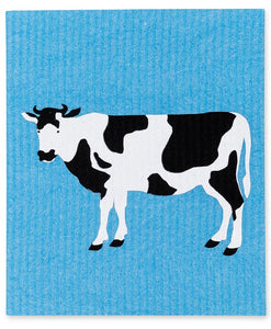 Swedish Dish Cloth - Cows