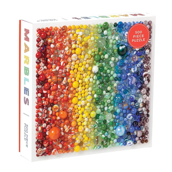 Rainbow Marbles - 500 pc puzzle