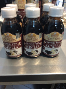 Small vanilla extract