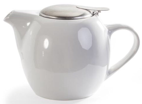 Tea Pot - 20 oz - White