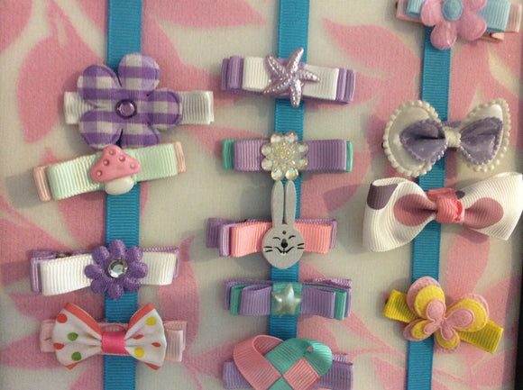 Butterfly Bow Clip