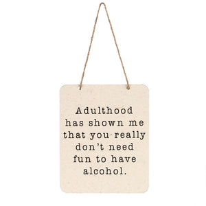 Adulthood Sign