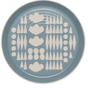 Imprint Dinner Plate - Collage