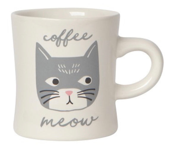 Cats Meow Diner Coffee Mug