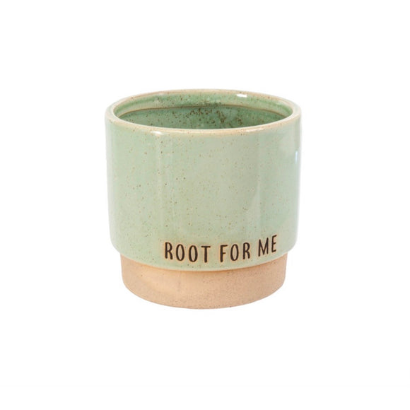 Root For Me Pot - Green