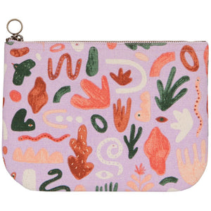 Curio Large Zipper Pouch
