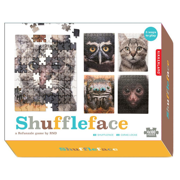 Shuffleface Refunzzle Game — 4x100 pcs