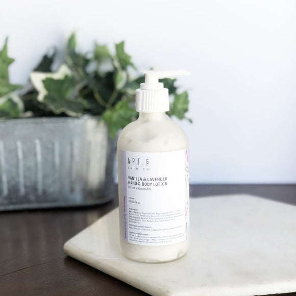 Apt 6 Large Lotion Vanilla