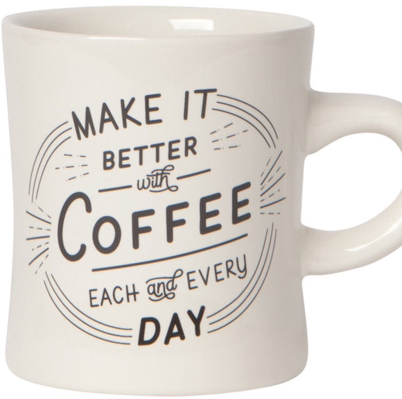 Mug - Better With Coffee