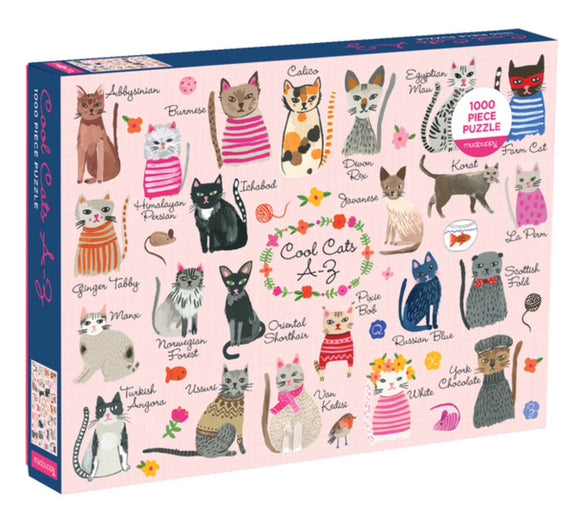 Cool Cats Puzzle - 1000 pc