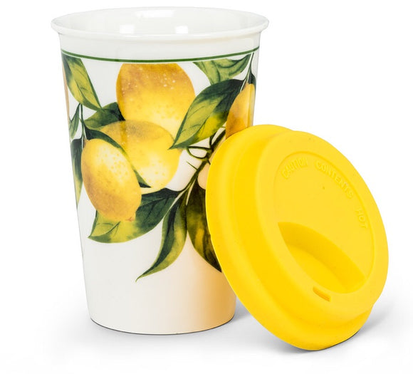 Travel Mug — Lemon Tree