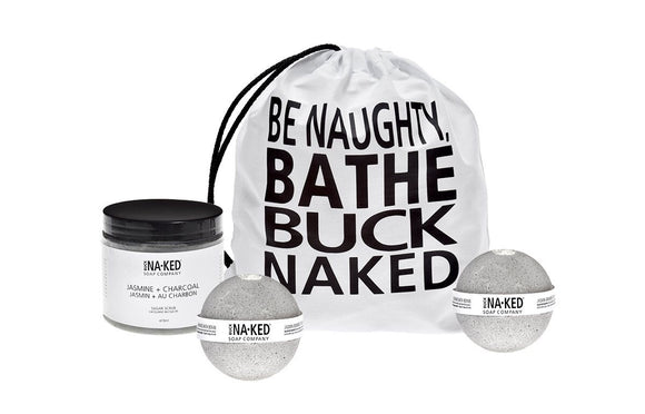 Buck Naked — Sugar Scrub & Bath Bomb Set