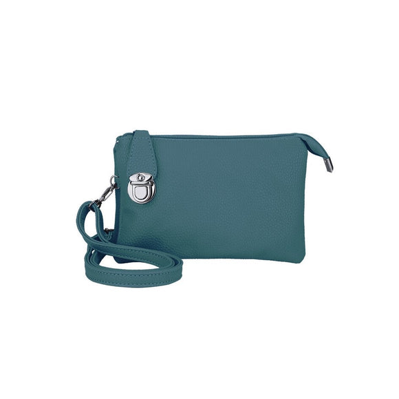 Crossbody Bag — Teal