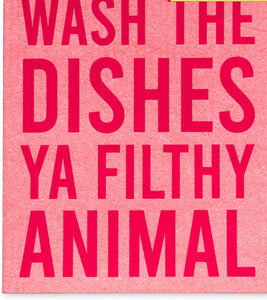 Swedish Dish Cloth - Filthy Animal