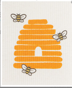 Swedish Dish Cloth Bees
