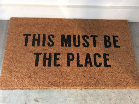This Must Be Doormat