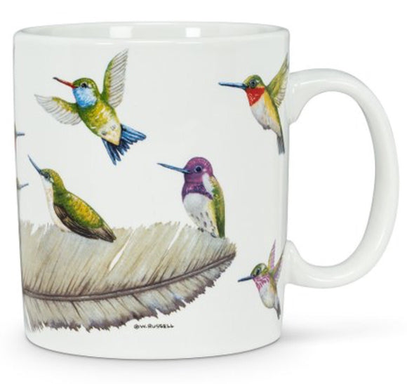 Birds Of A Feather Jumbo Hummingbird Mug
