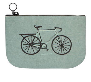 Wild Riders Bicycle Zipper Pouch