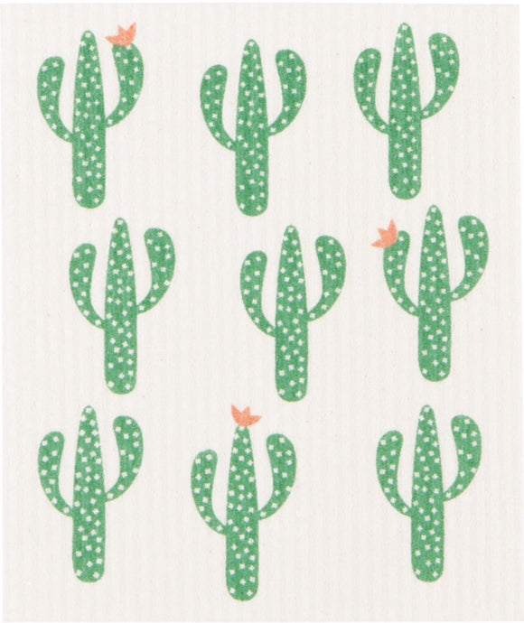 Swedish Dish Cloth Cacti