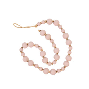Wooden Prayer Beads - Blush