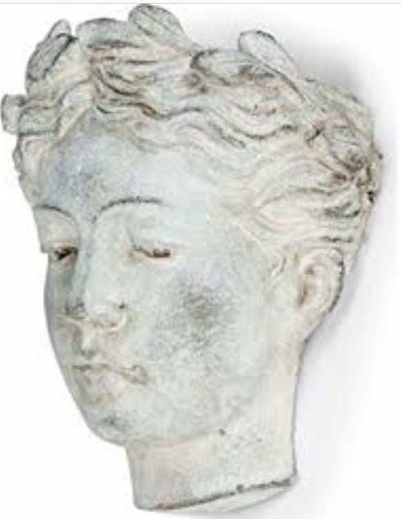 Woman Head Wall Planter-8""