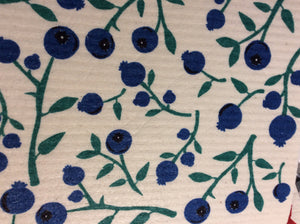 Swedish Dish Cloth Blueberry