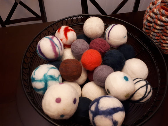 Dryer Balls, Designs by Rodna