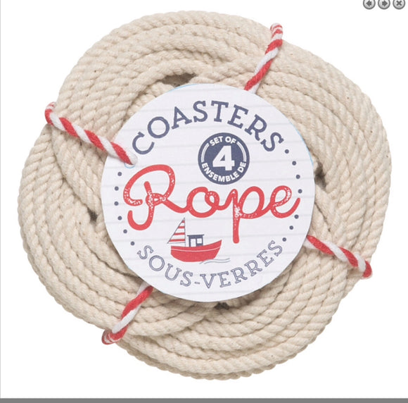 Coaster Set / 4 Rope